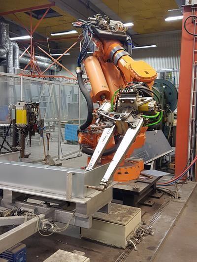 Robotpunktsvetsning